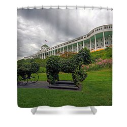 The Grand Hotel Mackinac Island Shower Curtain