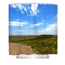 The Grasslands Shower Curtain