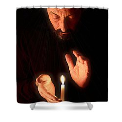 The Great Awakening Shower Curtain