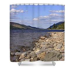 The Great Glen Shower Curtain