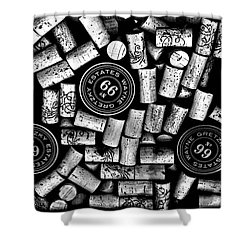 The Great One - Wayne Gretzky Estate Wines Shower Curtain by Andrea Kollo