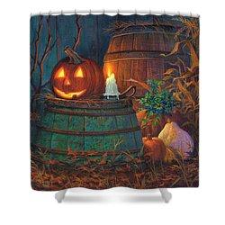 The Great Pumpkin Shower Curtain