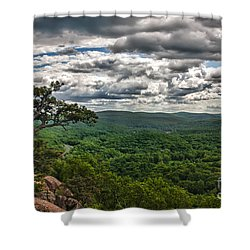 The Great Valley Shower Curtain
