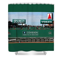 The Green Monster 99 Shower Curtain by Tom Prendergast