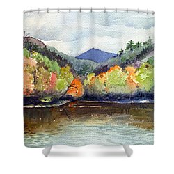 The Greenbriar River Shower Curtain