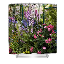 The Greenhouse Shower Curtain by Jessica Jenney