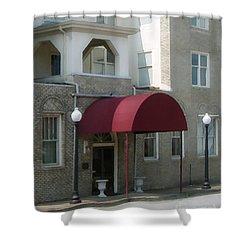 The Greystone Hotel Shower Curtain