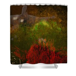 The Grotto Shower Curtain