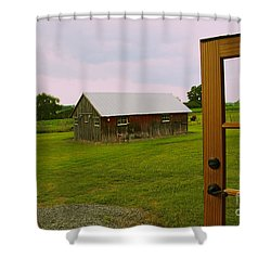 The Grounds Shower Curtain by William Norton