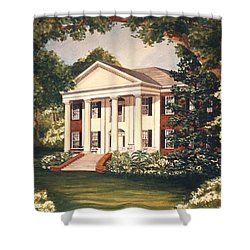 The Grove Tallahassee Florida Shower Curtain by Audrey Peaty