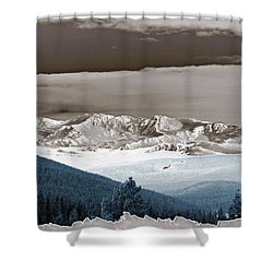 The Guardian Shower Curtain by Jeremy Rhoades