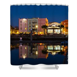 The Hampton Inn And Maritime Museum Fernandina Beach Florida Shower Curtain