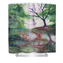 The Hanging Tree  Shower Curtain
