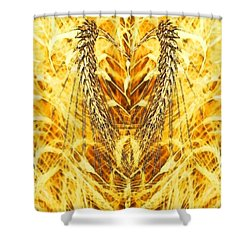 The Harvest Is Plentiful The Laborers Are Few Shower Curtain by PainterArtist FIN