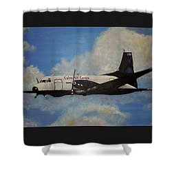 The Hawker Shower Curtain