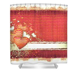 Shower Curtain featuring the digital art The Heart Knows by Liane Wright