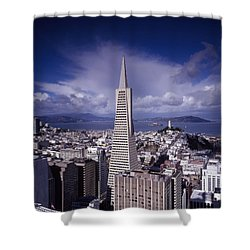 The Heart Of San Francisco Shower Curtain
