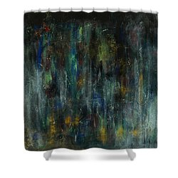 The Heart's Temple Shower Curtain
