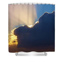 The Heavens Shower Curtain by Randy Pollard