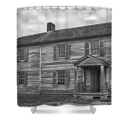 The Henry House Shower Curtain by Guy Whiteley