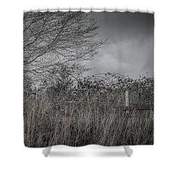 The Hidden Bench 2 Shower Curtain