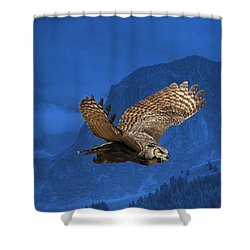 The High Country Shower Curtain by Donna Kennedy