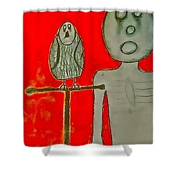 The Hollow Men 88 - Bird Shower Curtain