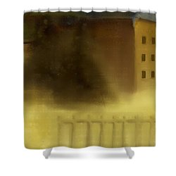 The House Beyond The Fence #c-2 Shower Curtain