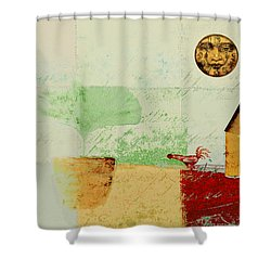 The House Next Door - J191206097-c4f1 Shower Curtain by Variance Collections
