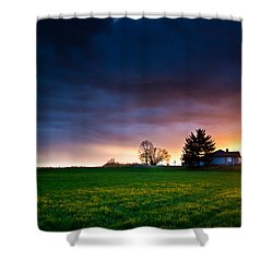 The House Of The Rising Sun Shower Curtain