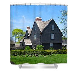 The House Of The Seven Gables Shower Curtain
