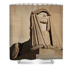 The House Of The Temple Sphinx #2 Shower Curtain
