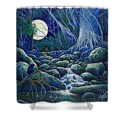 The Hunt For The Wolfman Shower Curtain