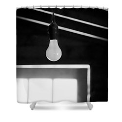 The Idea Shower Curtain