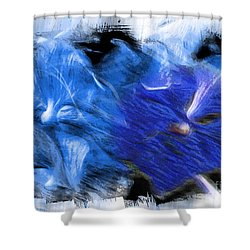 The Images Within Shower Curtain