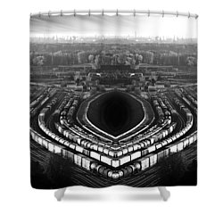 The Industrial Accident Shower Curtain