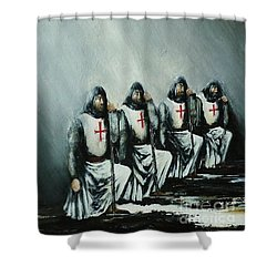 The Initiation Shower Curtain