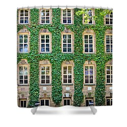 The Ivy Walls Shower Curtain