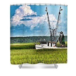 The Jc Coming Home Shower Curtain