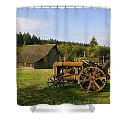 The Johnson Farm Shower Curtain