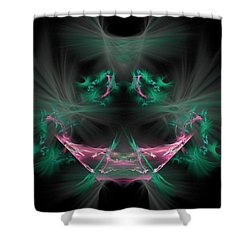 The Joker Shower Curtain by Bruce Nutting