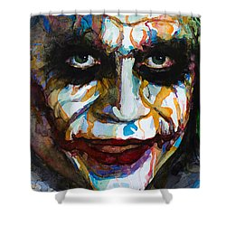The Joker - Ledger Shower Curtain
