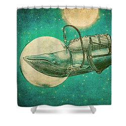 The Journey Shower Curtain by Eric Fan