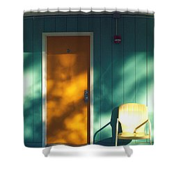 The Joy Motel Shower Curtain