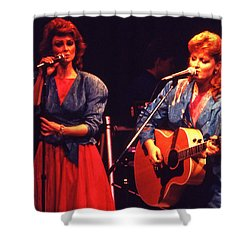 Shower Curtain featuring the photograph The Judds by Mike Martin
