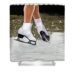 The Jump Shower Curtain