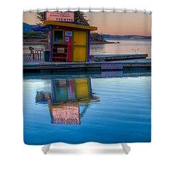 The Kayak Shack Morro Bay Shower Curtain