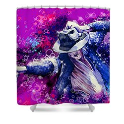 The King 2 Shower Curtain