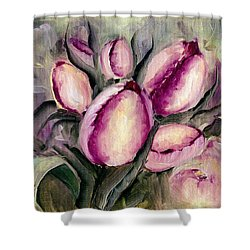 The Kings Tulips Shower Curtain