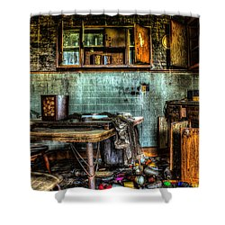 The Kitchen Shower Curtain